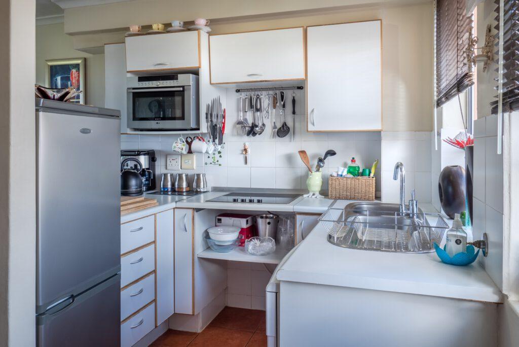 nieuwe keuken van Oosterom